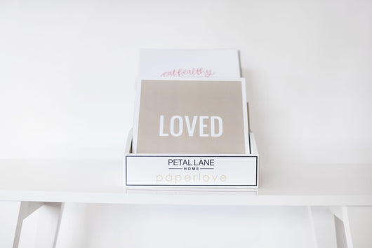 Petal Lane paperlove paper prints Large Display Set