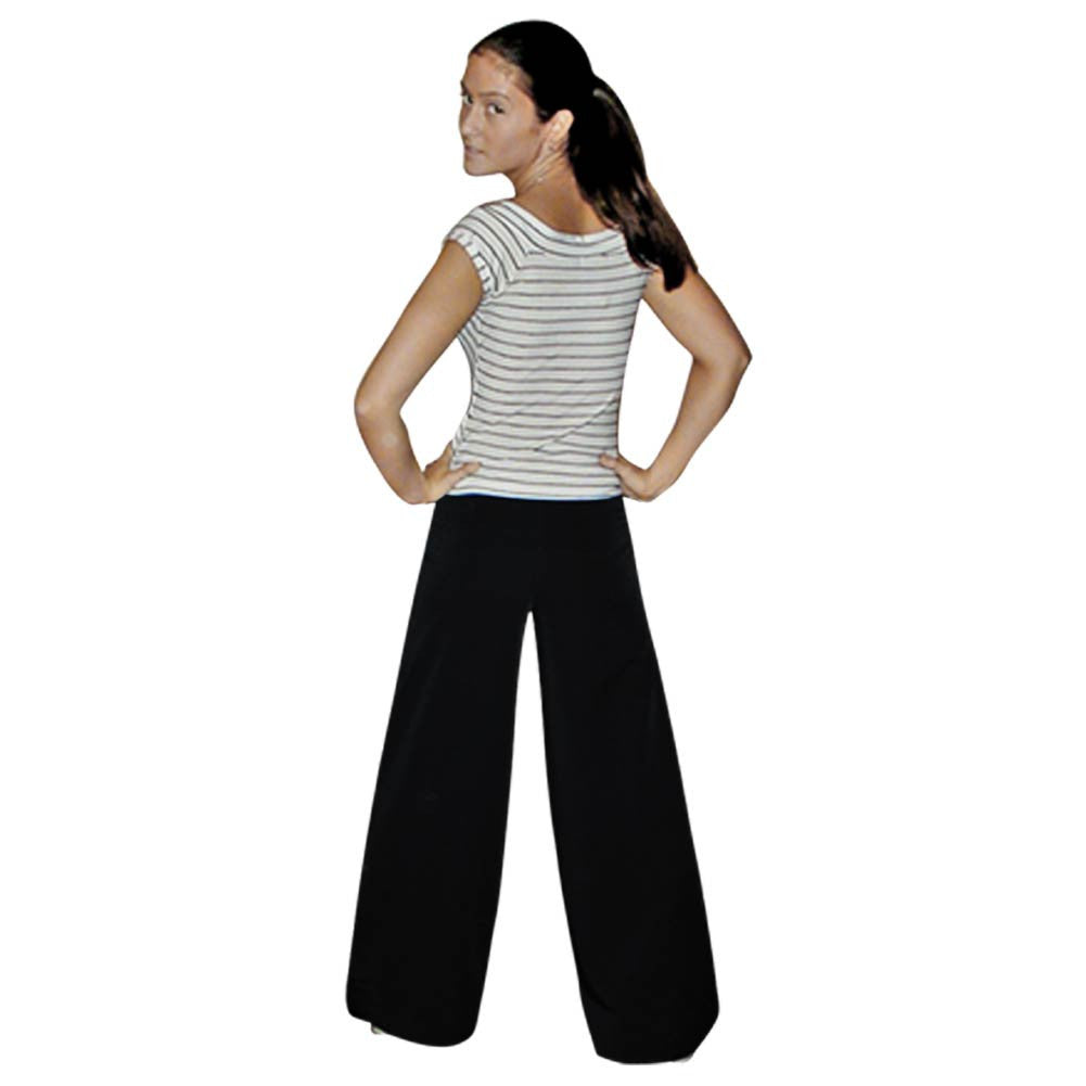 Women's Black Wide Leg Dress Pants *Limited Sizes*, dancestore.com - 1