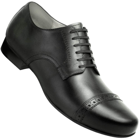 Aris Allen Men's 1930s Black Captoe Dance Shoe - *CLOSEOUT*