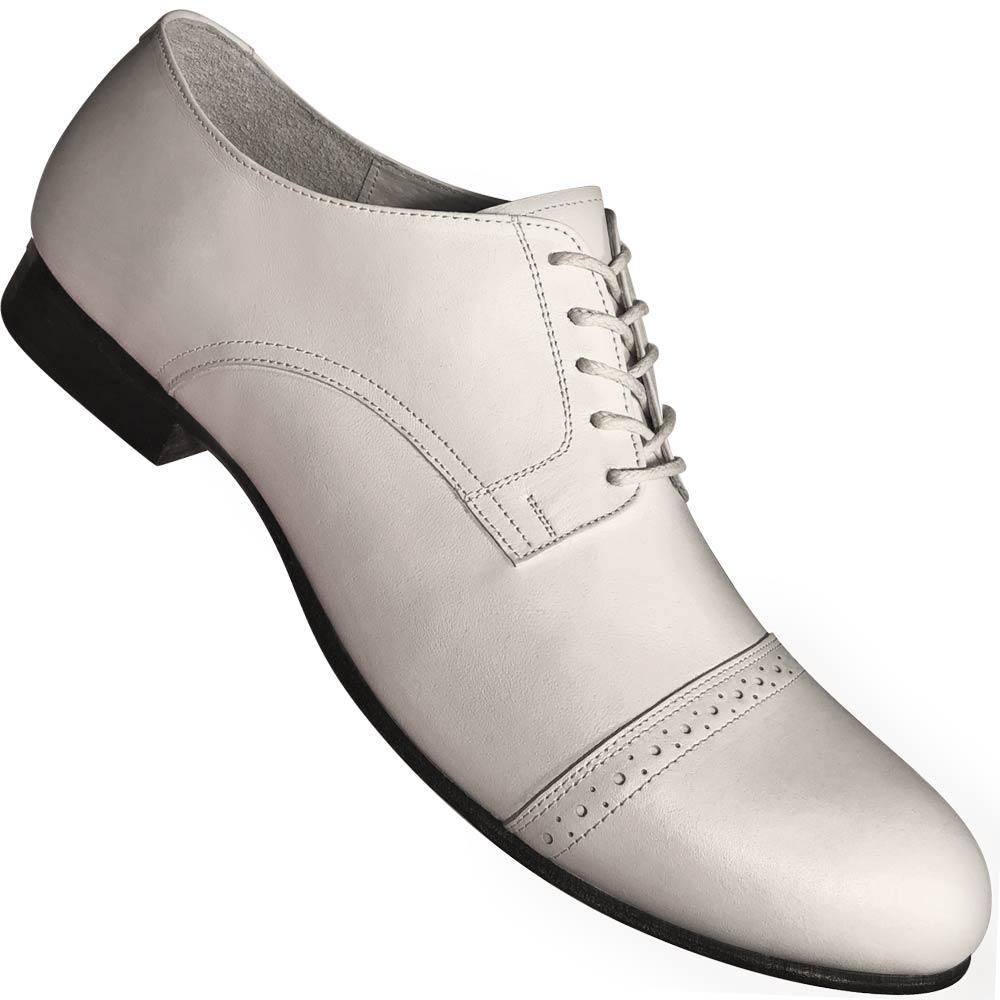 Aris Allen Men's 1932 White Captoe Swing Dance Shoes
