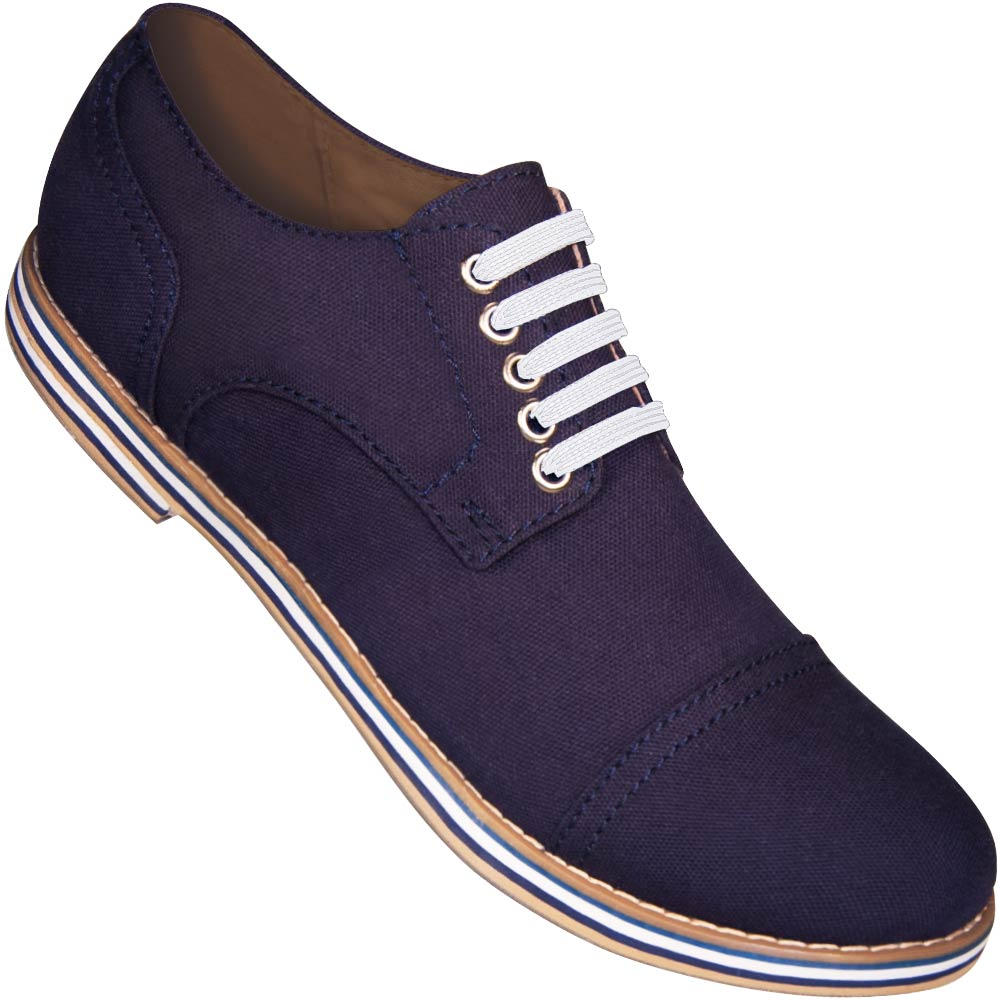 Aris Allen Men's Navy Blue Canvas Captoe Dance Shoes - *Limited Sizes*