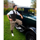 Jazz Age Lawn Party Classic Car Aris Allen White Captoes