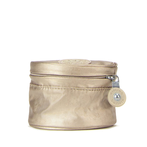 Sheena Metallic Pouch - Champagne Metallic