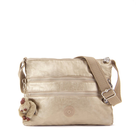 Alvar Crossbody Bag - Champagne Metallic