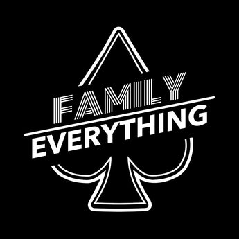 Ace Family | Family over Everything Logo Black