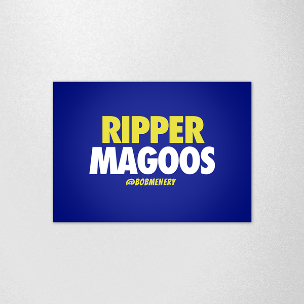 Ripper Magoos Poster