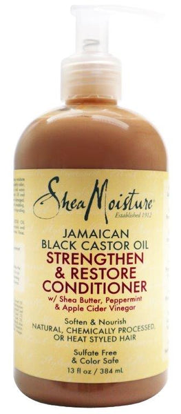 SheaMoisture - Jamaican Black Castor Oil Strengthen & Restore Conditioner