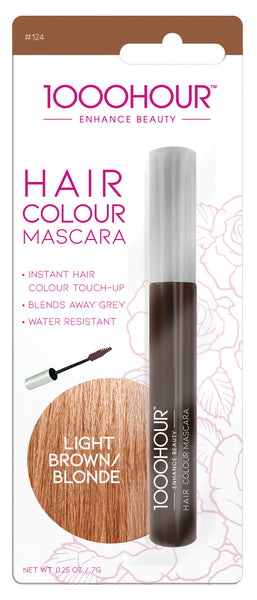 1000 Hour Hair Colour Mascara - Light Brown/Blonde