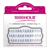 1000 Hour Lashes - Individual Black Flared (Medium)