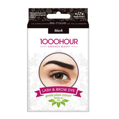 1000 Hour Brow Dye (Gentle Plant Extract) - Black