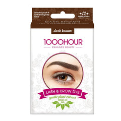 1000 Hour Brow Dye (Gentle Plant Extract) - Dark Brown