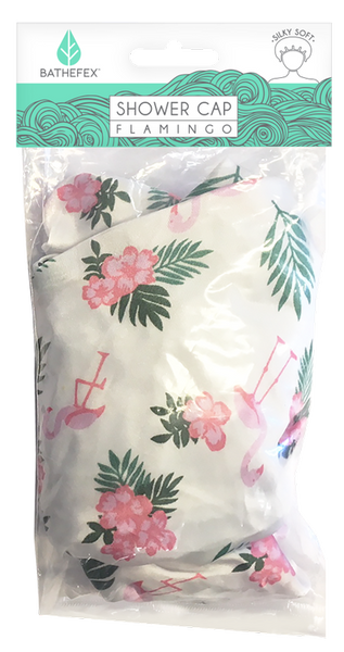 Bathefex - Shower Cap: Flamingo