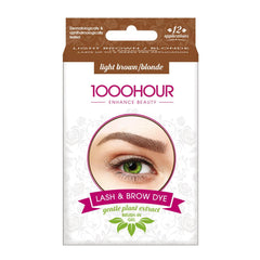 1000 Hour Brow Dye (Gentle Plant Extract) - Light Brown/Blonde