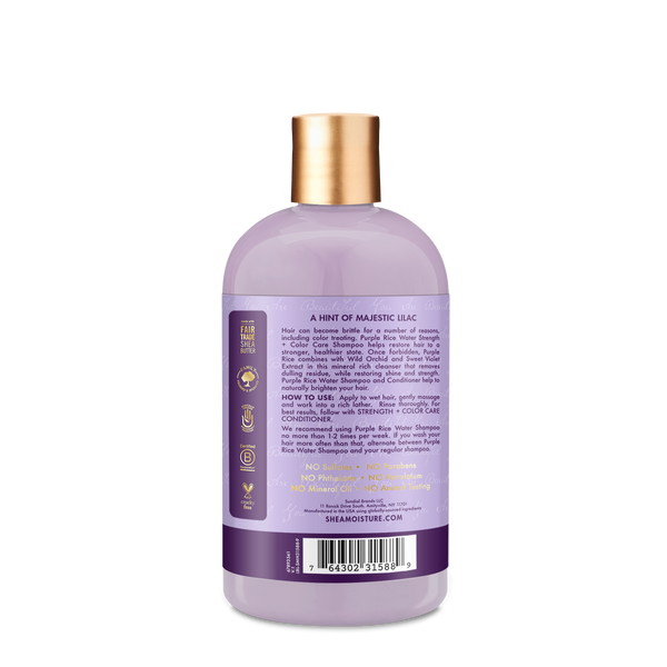 SheaMoisture - Purple Rice Water Strength & Colour Care Shampoo
