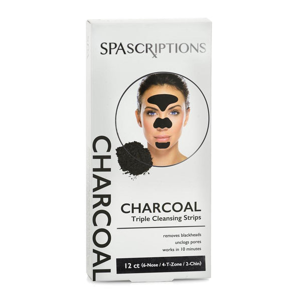 Spascriptions: Charcoal Triple Cleansing Strips