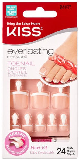 KISS Everlasting French -Toenail