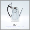 Feinberg Silver - The antique English neo-classical coffee pot was made by George Richards Elkington and Company in 1880 (not a circa date, the actual date).