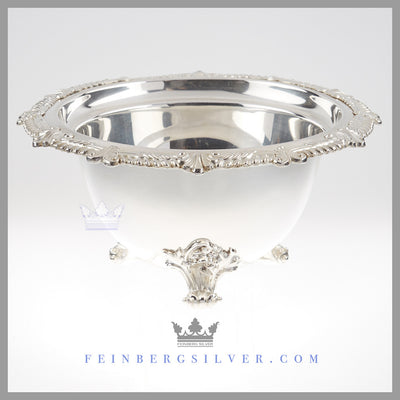 Very Fine Quality Antique English Silver Bowl