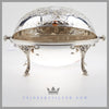 Victorian English Silverplate Revolving Tureen/Breakfast Dish | William Fairbairns