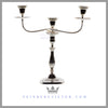 Pair of Old Sheffield Plated 3 Light Candelabra