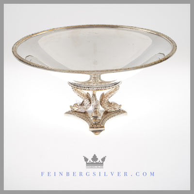 Antique Victorian Centerpiece Silver Plated EPNS For Sale | Feinberg Silver