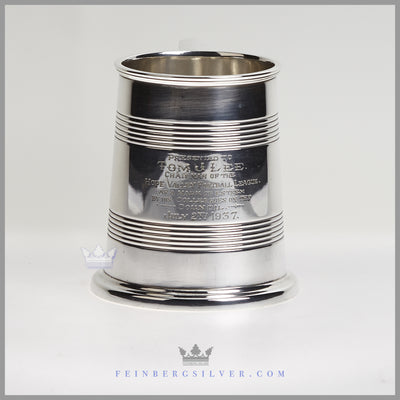 Atkins Brothers Tankard Silver Plated EPNS Antique For Sale | Feinberg Silver