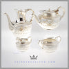 Antique English Silver 4 Piece Tea and Coffee Service - Mappin & Webb | Feinberg Antique English Silver Gifts - Purveyors of Fine Sterling Silver
