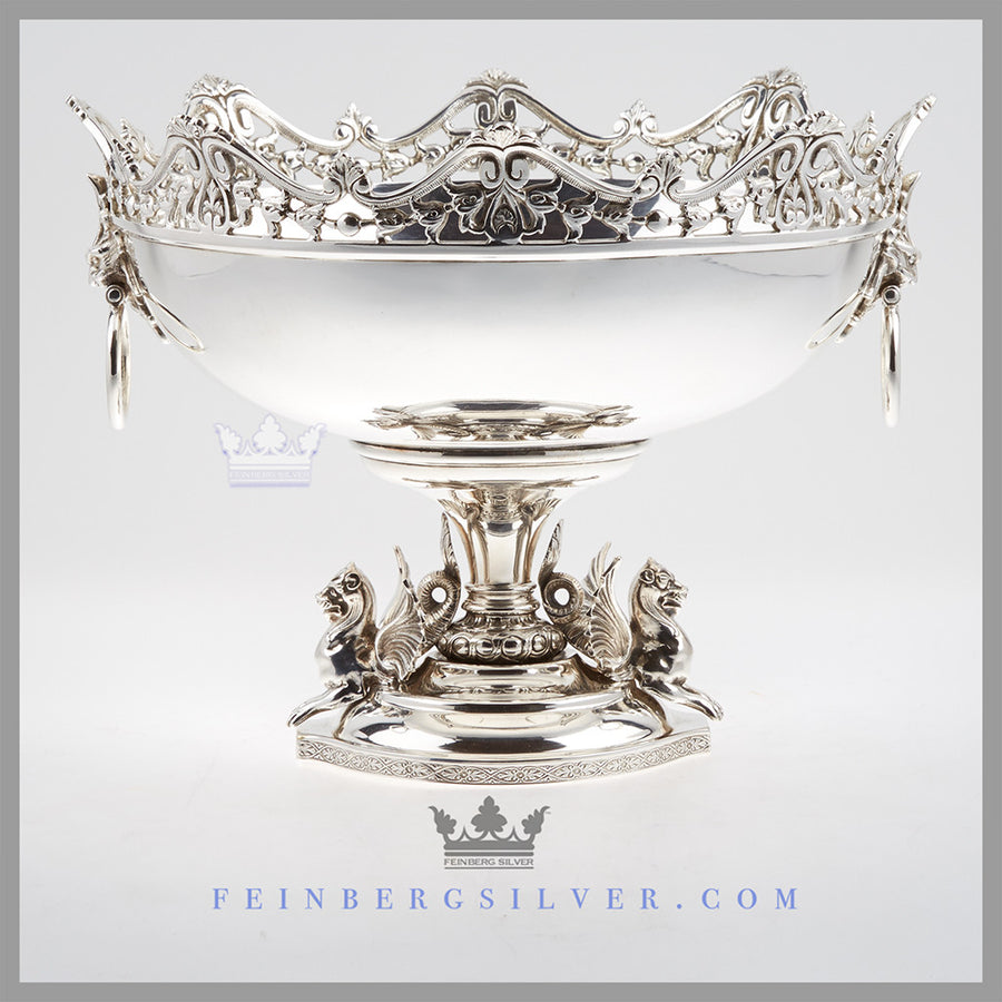 Silver Centerpieces For Weddings | Vintage Antique Silverplate ...