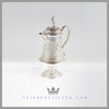 Feinberg Silver - The English silver plated jug has a splayed body and stands on a cast, stepped rim foot.