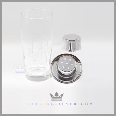 Antique English Silver Cocktail Shaker | Feinberg Antique English Silver Gifts - Purveyors of Fine Sterling Silver