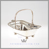 Antique Silver Old Sheffield Basket - c. 1810