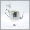 Antique English Silver Plated Aesthetic Teapot - circa 1865 | Thomas Woolley