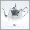 Thomas Woolley Tea Pot Silver Plated EPNS Antique Victorian | Feinberg Silver