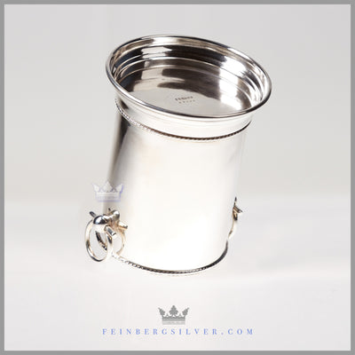 Silverplated Syphon Stand/Wine Coaster - Antique English c. 1890 | Barker - Ellis