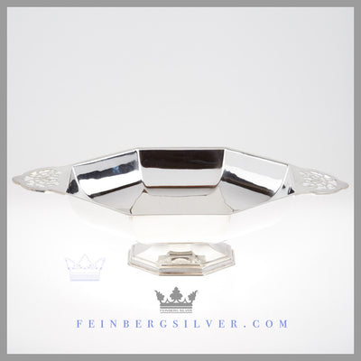 Antique English Silver Comport | Feinberg Antique English Silver Gifts - Purveyors of Fine Sterling Silver
