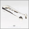 Antique American Coin Silver Pair Sugar Tongs | Feinberg Silver