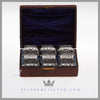 Fine, Rare Set of 6 Horseshoe Napkin Rings c. 1865 |  English Silver Plated for Sale
