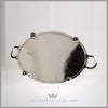 Antique English Silver Plated Oval Gallery Tray/Waiter c. 1895 | Walker & Hall