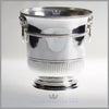 Antique English Silver Wine Bucket | Rams Head Handles | Feinberg Silver
