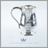 Feinberg Silver - The English silver plated pear shaped child's mug/cup is circa 1865.