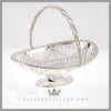 Silver Basket Mappin Webb Basket Silver EPNS Antique Victorian For Sale | Feinberg Antique English Silver Gifts - Purveyors of Fine Sterling Silver