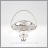 Antique English Silver Basket - Mappin and Webb | Feinberg Antique English Silver Gifts - Purveyors of Fine Sterling Silver