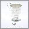 Antique English Silverplated Child's Mug/Christening Mug - circa 1875