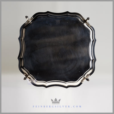 "Antique English 12"" Salver/Waiter  c.1880 