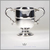 Two Handled Cup/Chalice/Trophy - Antique English Silverplate c. 1900 | Barker - Ellis