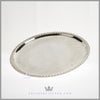 Antique Victorian Tray Silver Plated EPNS For Sale | Feinberg Silver