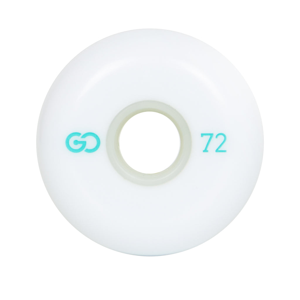 GO PROJECT 72MM WHEELS - WHITE