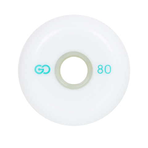 GO PROJECT 80MM WHEELS - WHITE