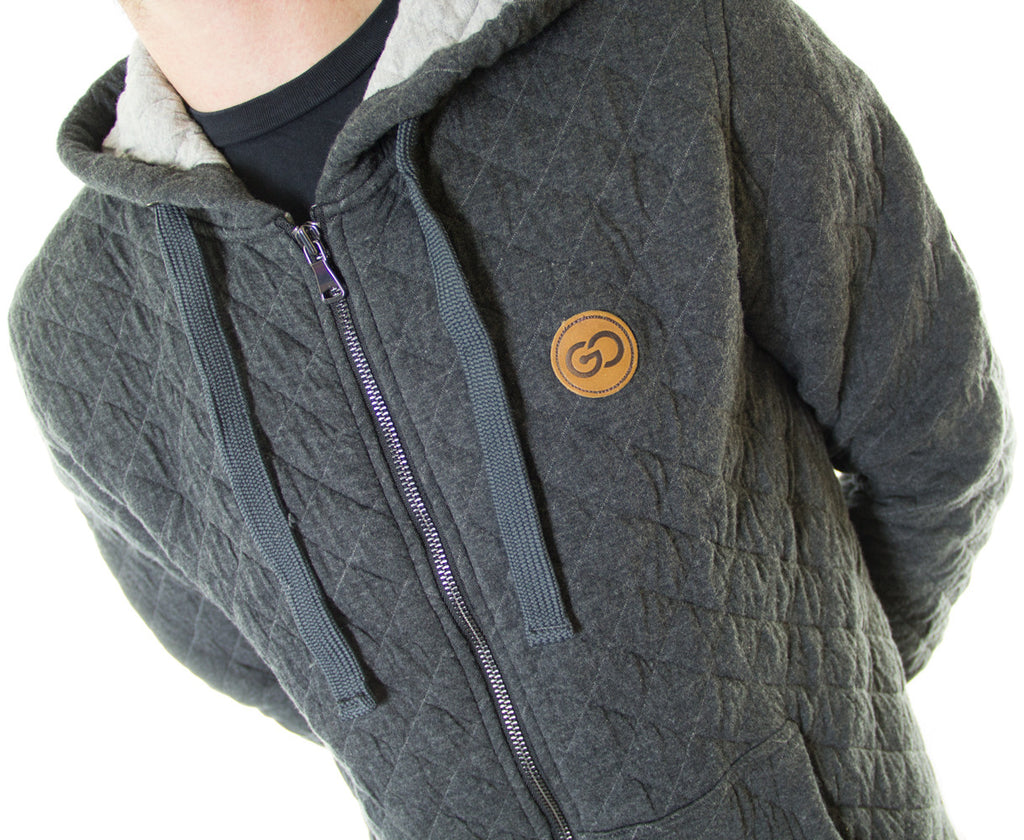 Go Project QUILTED Hoody
