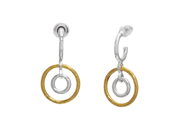 Gurhan Circle Drop Earrings
